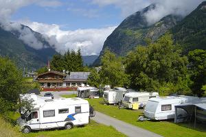 Staanplaatsen Camping Tirol