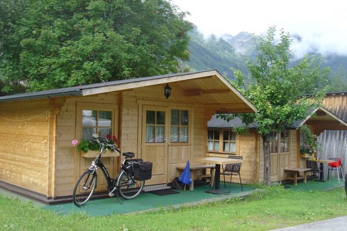 Blockhütte am Ötztal Camping