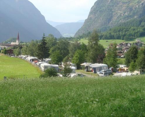 Camping Platz Umhausen Ötztal