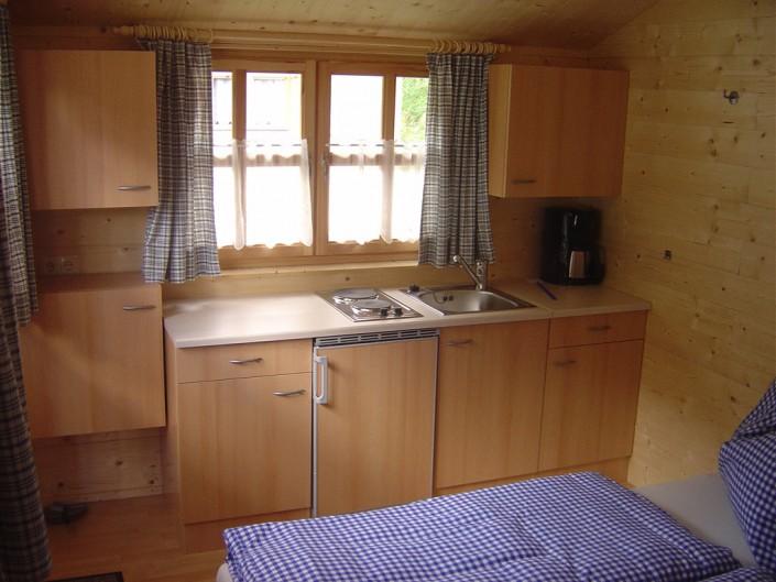 Küche in der Hütte