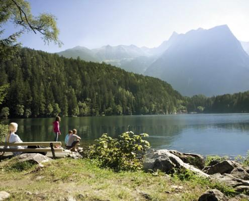 Badesee Ötztal Tirol