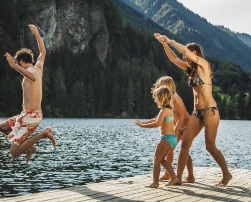 Badespaß im Ötztal
