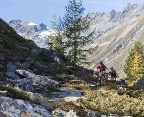 Mountainbiken - Ötztal Camping Tirol