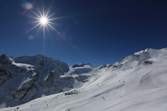 Skipisten Ötztal Tirol