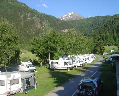 Campingplatz Stellplätze
