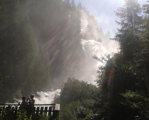 Wasserfall Camping